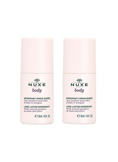 Nuxe Nuxe Body Long Lasting Deodorant 2x50 ml - Uzun Süre Etkili Deodorant  Renksiz